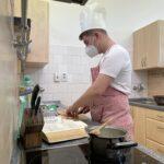 Šimon Křivan, jediný žák v kuchyni